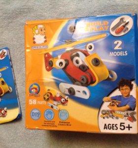 Конструктор  детский Build & Play новый в подарок