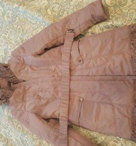 Пальто зимнее размер 46
