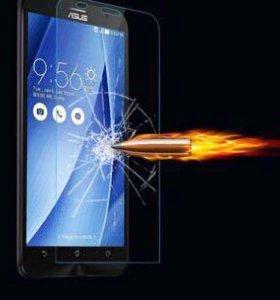 Защитное стекло на (samsung, iPhone, zenfon)