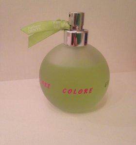 Colors green perfume genty