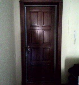 Обшивка металлических  дверей