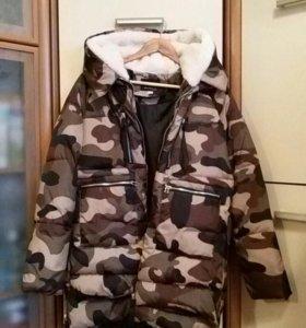 Куртку-пуховик