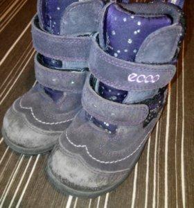 Ботинки зимние Экко Ecco gore-tex