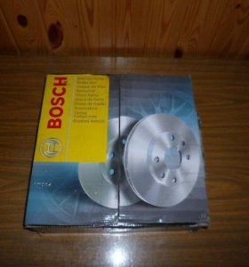 Тормозные диски Bosch 2шт. Nissan Qashqai, X-Trail