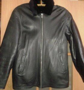 Куртка мужска натуральная кожа мех