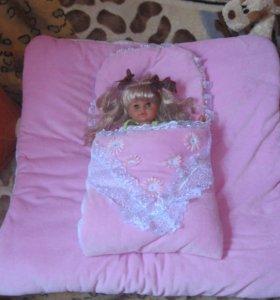 Конверт, одеяло для выписки