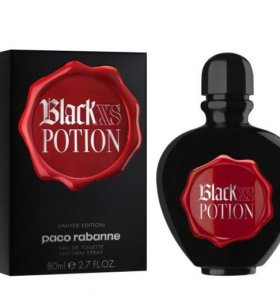 Paco Rabanne Black XS Potion for Her  80 мл