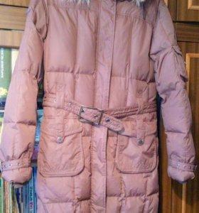Зимнее пальто стёганое