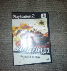 Диск Battlefield 2 на PlayStation 2