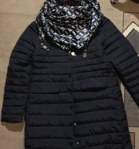 Демисезонная куртка-пальто