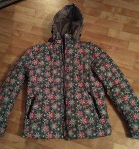 Женская куртка новая на синтепоне 52р-ра