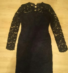 Новое вечернее платье из гипюра