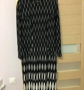 Чёрное новое платье р.52