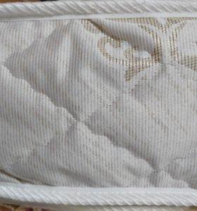 Матрас с кокосом, верхняя ткань жакард