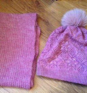 Комплект (шапка+шарф)