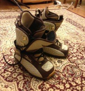 Ботинки для сноуборда  размер  35
