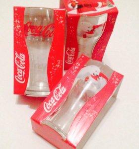 Coca-Cola новогодние стаканы