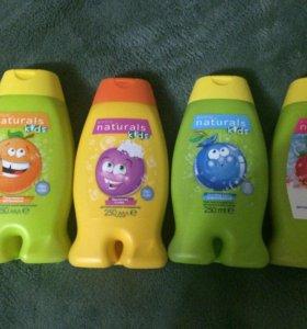 Детские гели и шампуни