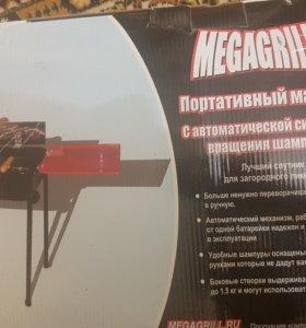 Электрический мангал megagrill 701