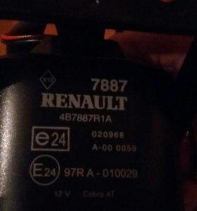 автосигнализация на автомобиль Renault Scenic II