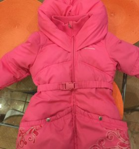 Детский пуховик зимний!!!!