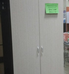 Шкаф распашной 2-х дверный