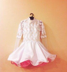 Новое конкурсное платье стандарт/латина. Дети 1.