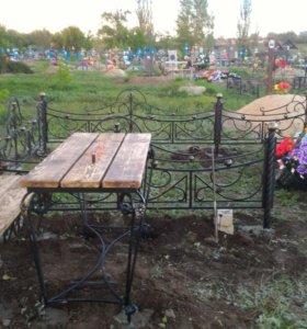 Оградки ритуальные в Михайловке