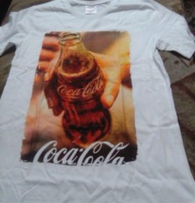 Майка Coca Cola размер L.