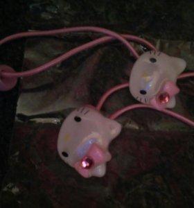Резиночки для девочки Kitty