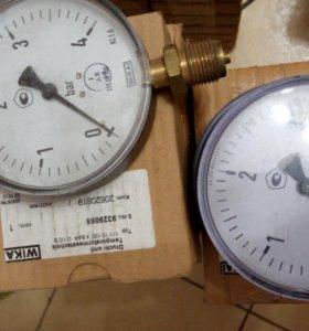 АКЦИЯ! Манометры и термометры