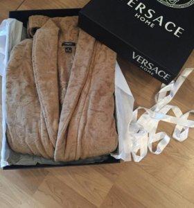 Новый мужской халат Versace Home (оригинал)