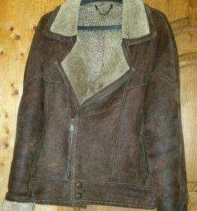 Легчайшая Куртка Мужская-дубленка из нат. овчинки