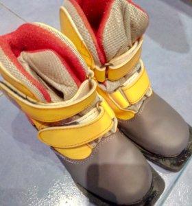Лыжи и Детские лыжные ботинки