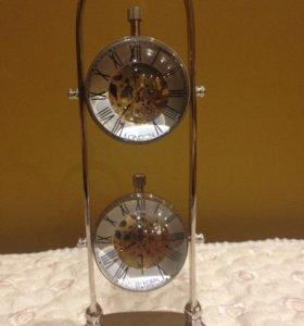 Часы механика металл