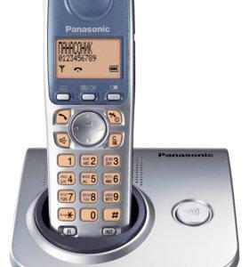 Dect телефон Panasonic KX-TG7205RU с новыми аккуму