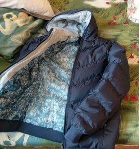 Новая куртка зимняя мужская