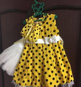Платье пышненькое