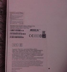 Apple iPad mini 3 Wi-fi +Cellurar 16 Gb Space Gray