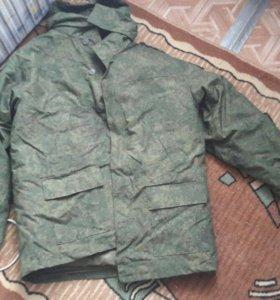 Зимний армейский костюм