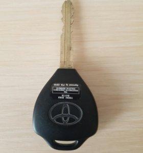 Ключ тойота