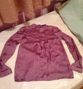 Блузка фиолетовая 42р-р