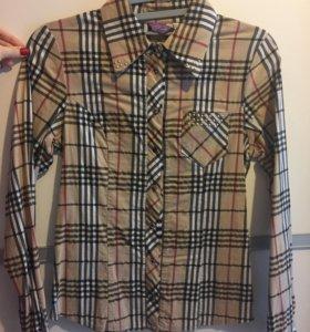 Рубашка принт Burberry