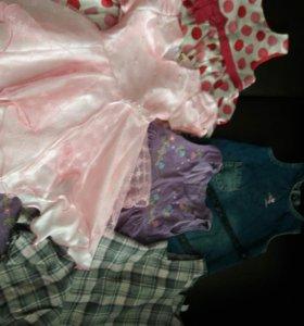 Платья 5-6 лет