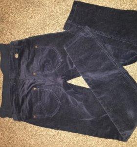 Вельветовые джинсы ( для беременных)