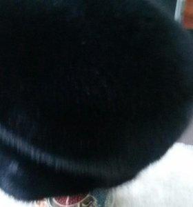 Норковая кепка муж.р60-62