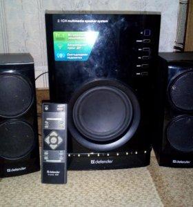 Продаю акустика 2.1 defender avante x55