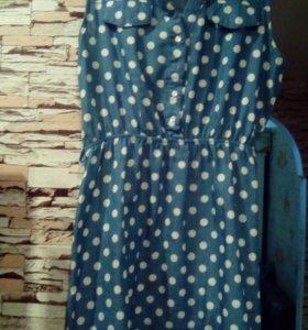 Платье женское(джинсовое)