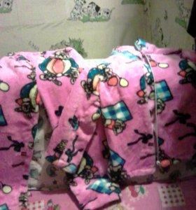 Пижама махровая новая