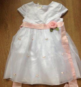 Платье новое104 см